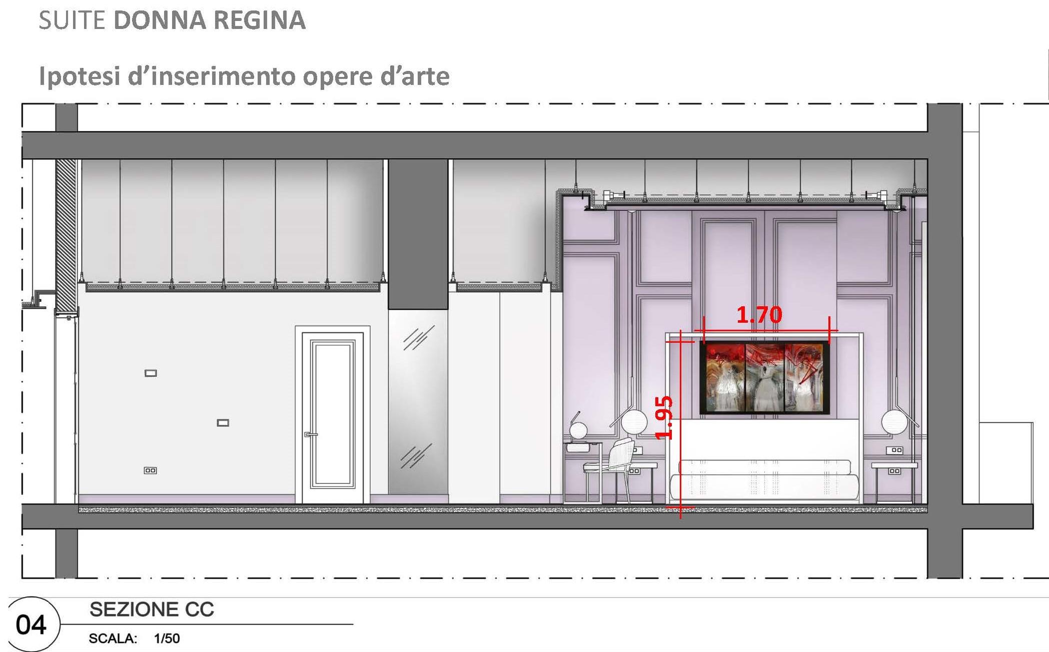 Suite Donna Regina 170 x 70 h